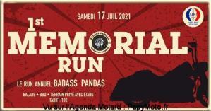 1st Mémorial Run - Badass Pandas - Seine et Marne (77)