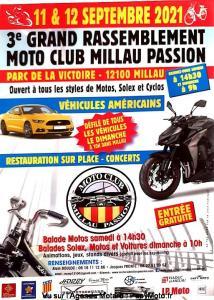 3e Grand rassemblement Moto Club Millau Passion - Millau (12) @ Millau (12)
