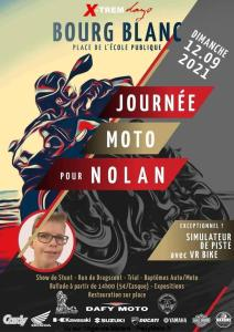 Journée Moto pour Nolan - Bourg Blanc (29) @ Bourg Blanc (29)
