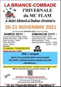 L'Hivernale du Moto Club Flam - Saint Méard (87) @ Saint Méard (87)