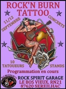 Rock'n Burn Tattoo - Sereilhac (87) @ Sereilhac (87)
