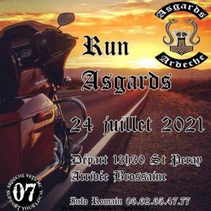 Run Asgards - Saint Peray (07) @ Saint Peray (07)