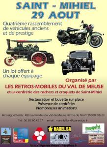 4e rassemblement de véhicules anciens et de prestige - Saint Mihiel (55) @ Saint Mihiel (55)