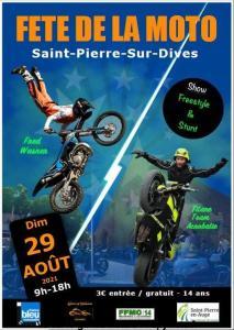 Fête de la Moto - Saint-Pierre-sur-Dives (14) @ Saint-Pierre-sur-Dives (14)