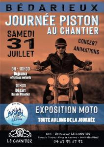 Journée Piston au Chantier - Bédarieux (34) @ Bédarieux (34)