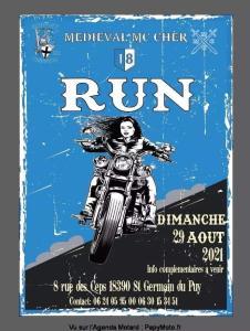 Run – Médiéval Motorcycle Club Cher – Saint Germain du Puy (18) @ Saint Germain du Puy (18)