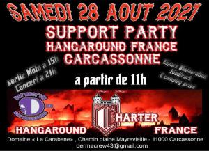 Support party Hangaround France - Carcassonne (11) @ - Carcassonne (11)