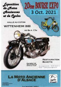 20ème BOURSE EXPO La Moto Ancienne D'Alsace - Wittenheim (68) - @ Wittenheim (68) -
