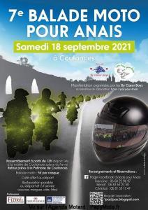 7e Balade moto pour Anais - Coutances (50) @ Coutances (50)