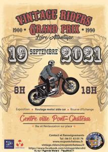 Vintage Riders Grand Prix - Pont-château (44) @ Pont-château (44)