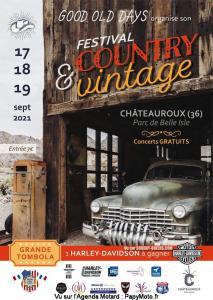 Festival country & vintage - Châteauroux (36) @ - Châteauroux (36)