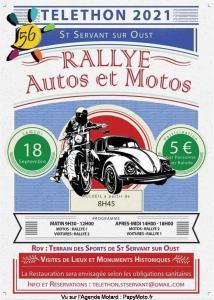 Rallye Moto – Téléthon -Saint Servant sur Oust (56) @ Saint Servant sur Oust (56)