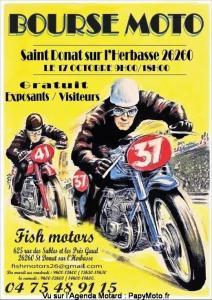 Bourse Moto - Saint Donat sur l'Herbasse (26) @ Saint Donat sur l'Herbasse (26)