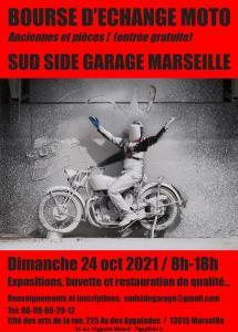Bourse d'échange moto - Marseille (13) @ Marseille (13)