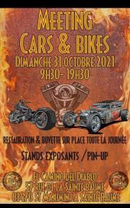 Meeting Cars & Bikes – Saint-Maximin-la-Sainte-Baume (83) @ Saint-Maximin-la-Sainte-Baume (83)