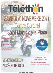 Téléthon - Saint-Martin-de-la-Place (49) @ Saint-Martin-de-la-Place (49)