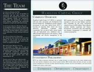 Hamilton Capital brochure