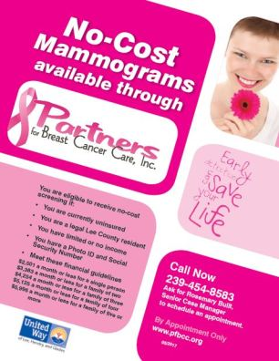 Partners for Breast Cancer Care Flyer