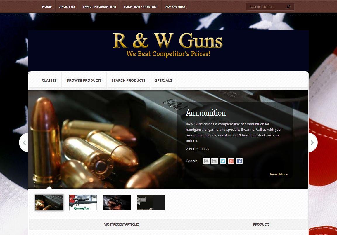 R & W Guns