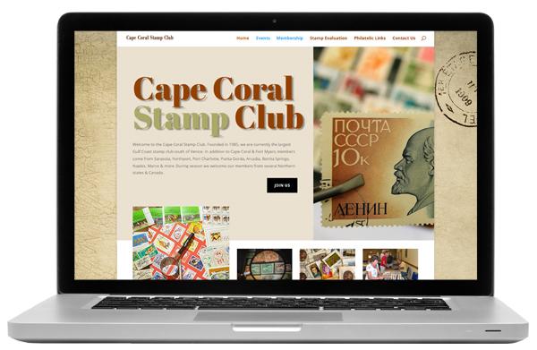 Cape Coral Stamp Club Website