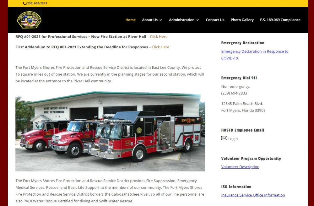 Fort Myers Shores Fire Department