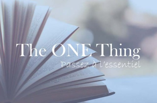 Résumé de The One Thing