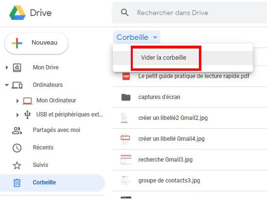 image 4 article: Libérer de l'espace de stockage dans Drive https://www.par-le-temps-qui-court.fr Magali Cochez