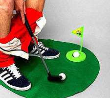 Best Golf Gifts Under 10 - Toilet Golf Game