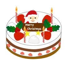 クリスマスケーキ(JPEG)