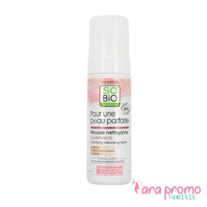 SO BIO MOUSSE NETTOYANTE CLARIFIANTE 150ML