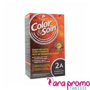 3 CHÊNES COLOR & SOIN COLORATION - 2A Brun Azuré