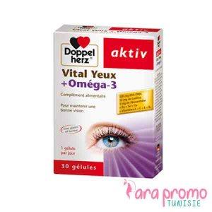AKTIV Vital yeux+Oméga-3 30 GELULES