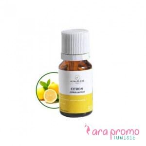 ALMAFLORE Huile Essentielle de Citron jaune BIO 10ML