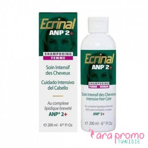 Ecrinal Soin Intensif Cheveux ANP 2+ Shampooing Fortifiant FEMME 200ML