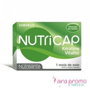 NUTRICAP CHEVEUX ET ONGLES KERATINE VITALITE 30 CAPSULES