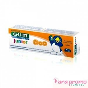 GUM KIDS DENTIFRICE FLUORE + ISOMALT 7+ ANS 50ML
