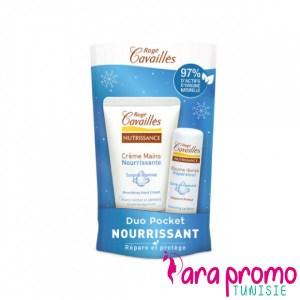 ROGE CAVAILLES Duo Pocket Nourrissant Crème Mains Nourrissante 30ML + Baume à Lèvres