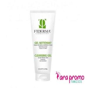 FIDERMA Gel nettoyant purifiant peaux grasses, 200ml
