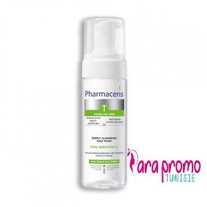 PHARMACERIS-T-PURI-SEBOSTATIC-Mousse-Nettoyante-150ML
