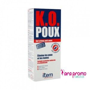 ITEM K.O. POUX GEL CREME ANTI-POUX 100ML