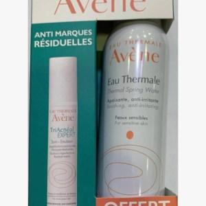AVENE COFFRET TRIACNEAL + EAU THERMALE 150ML OFFERTE