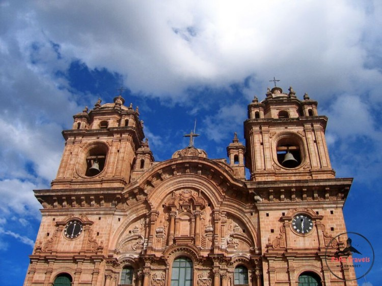 Cusco's cathedral closeup