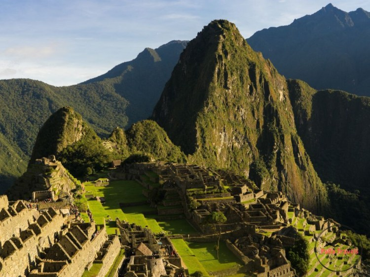 Machu Picchu in the sun