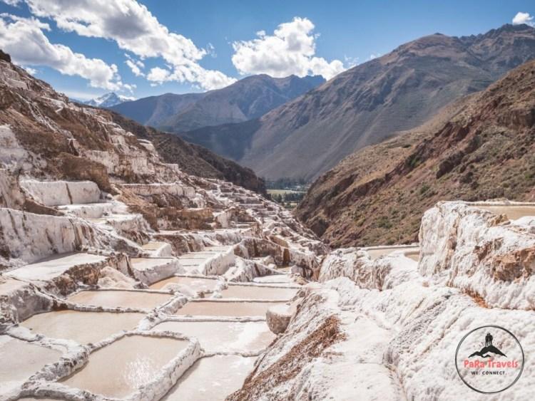 Maras salt mining