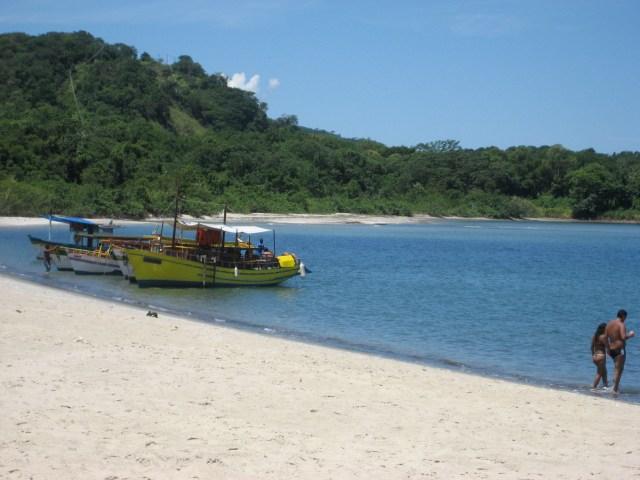 Strand bei Paratí, RJ