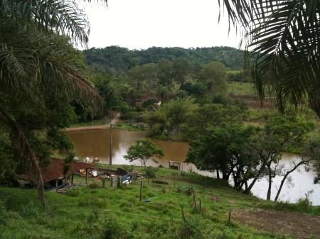 Panoramaaufnahme der Fazenda Mato Dentro