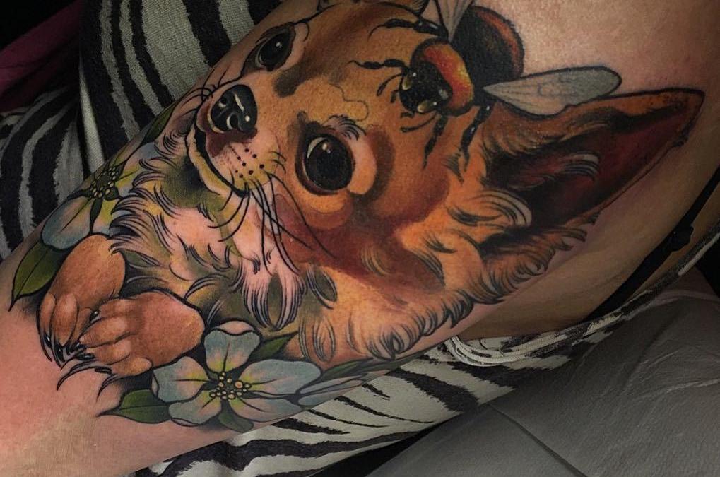 Los tatuajes más cool de chihuahuas