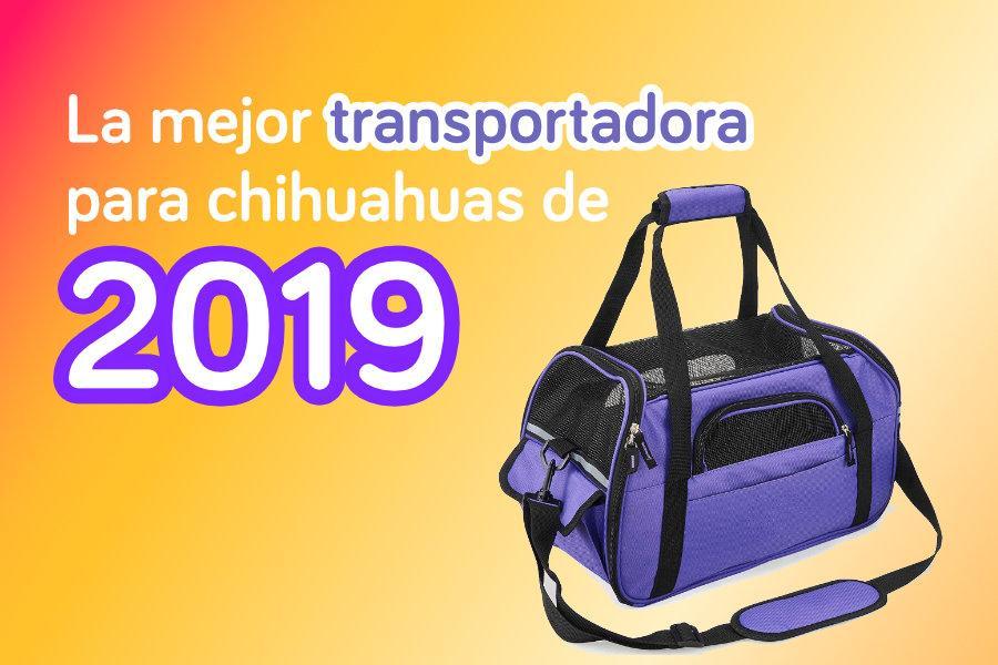 La mejor transportadora para chihuahuas de 2019