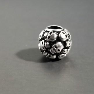 Multi Skull Bead Charm