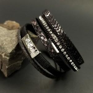 Bohemian Black wrap